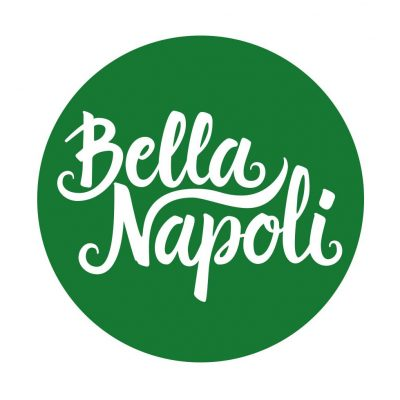 Logotipo Bella Napoli redondo
