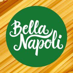 Logotipo para pizzería Bella Napoli