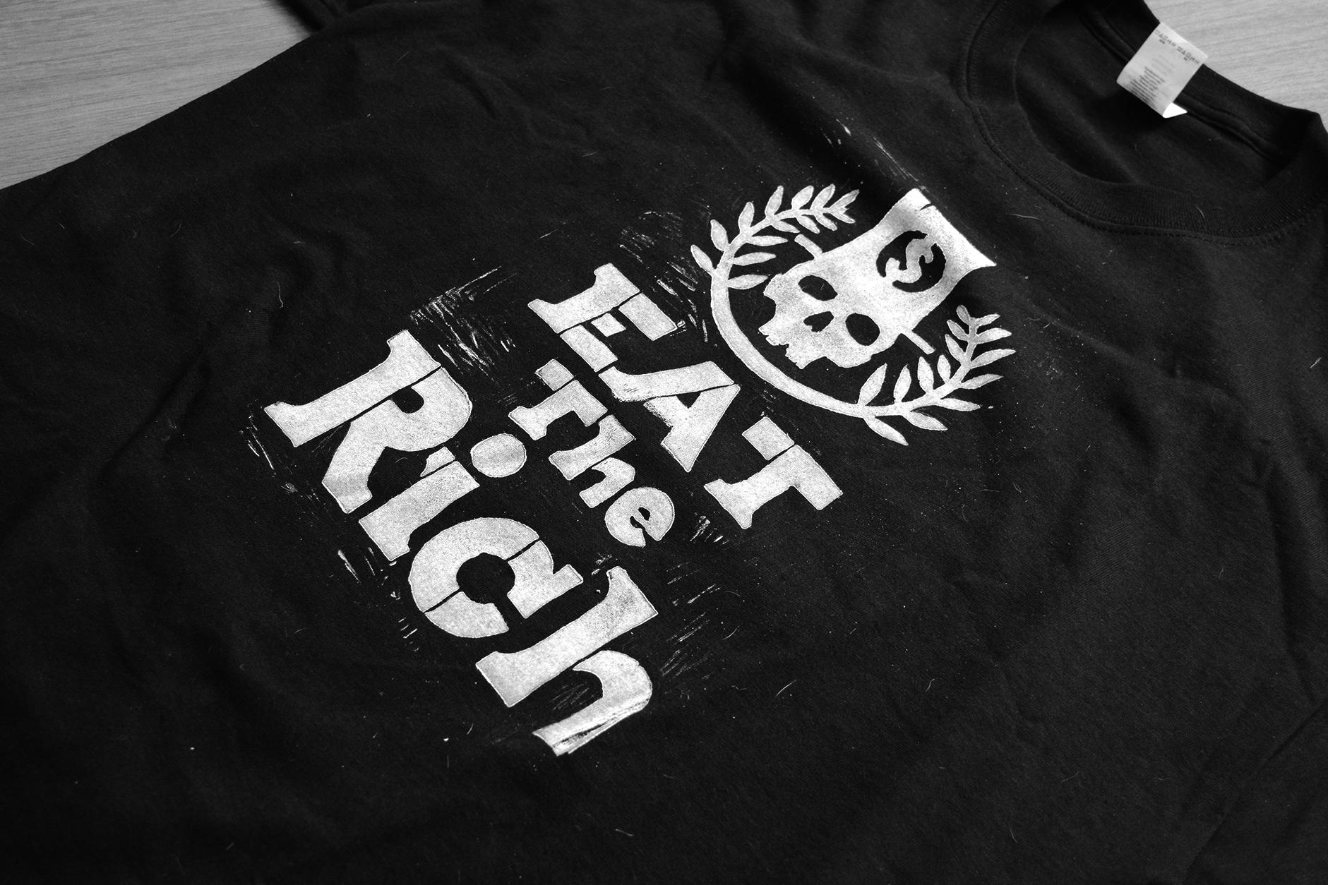 Camiseta Eat the Rich