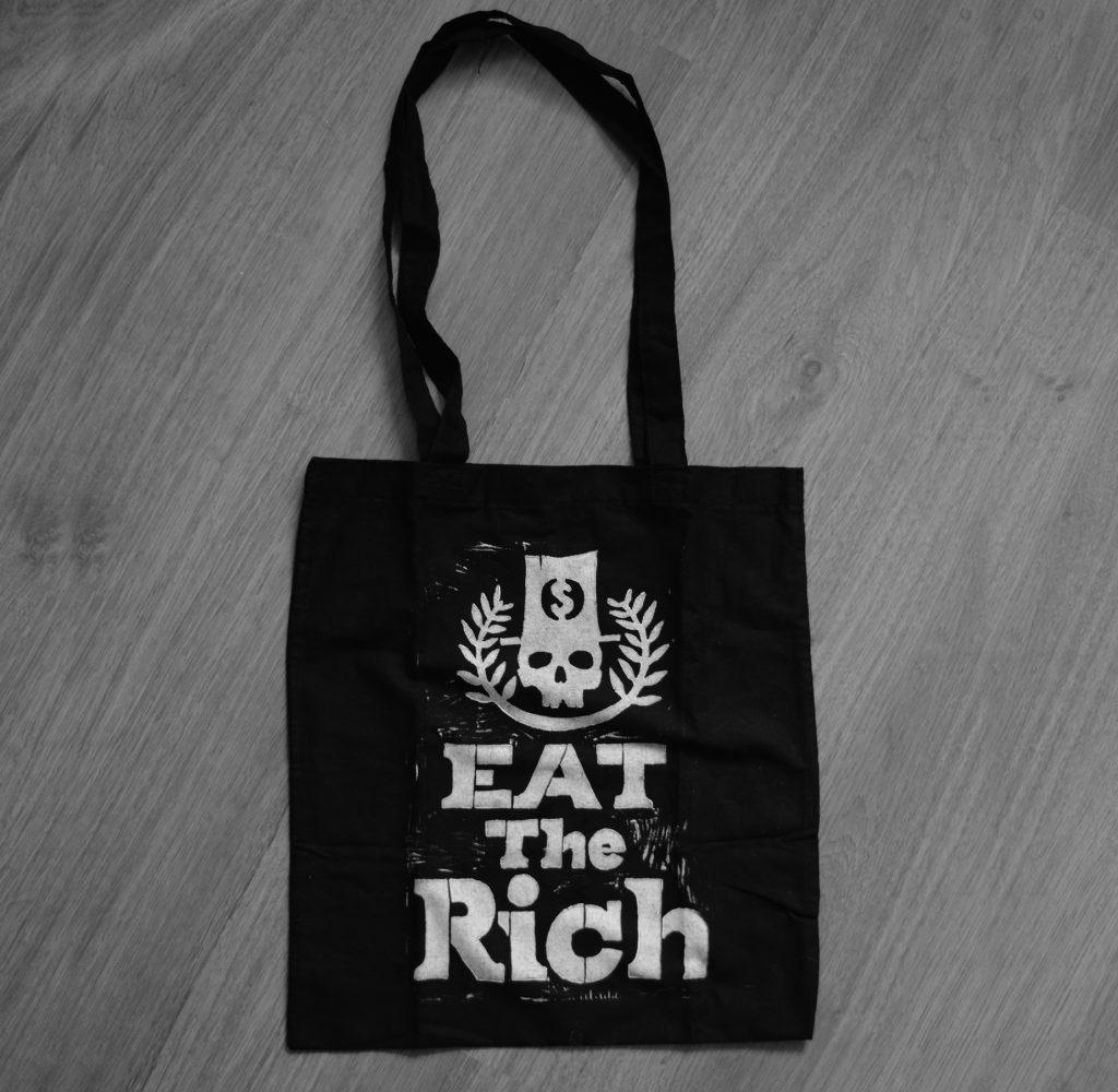 Bolsa Tote Bag Eat the Rich