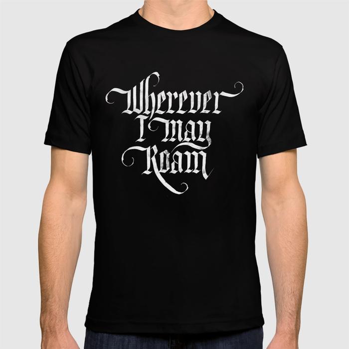 Camiseta Metallica Wherever I may roam