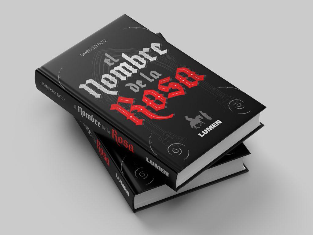 Mock-up del libro con la portada
