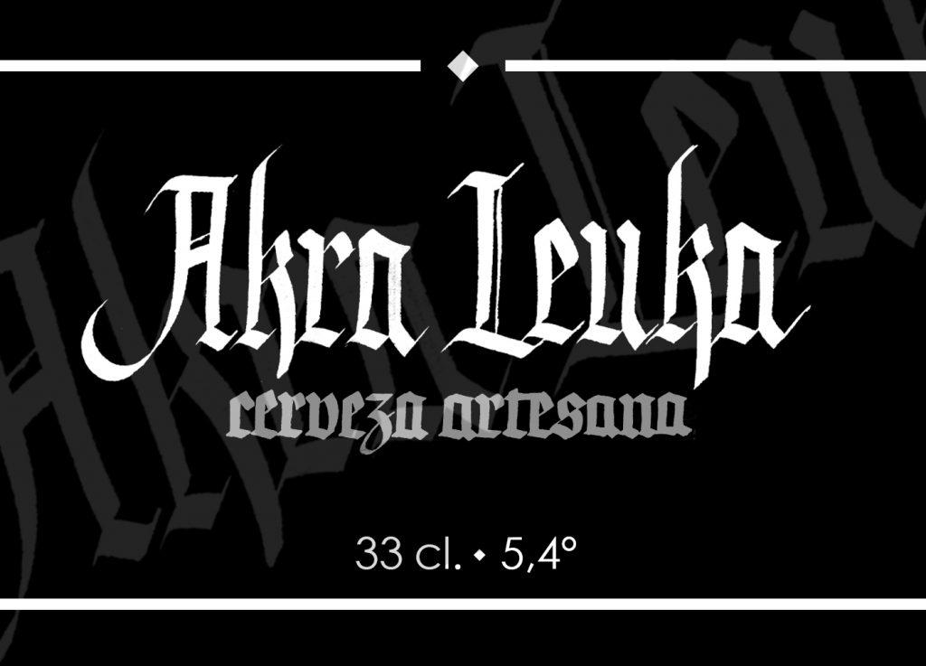 Etiqueta Akra Leuka