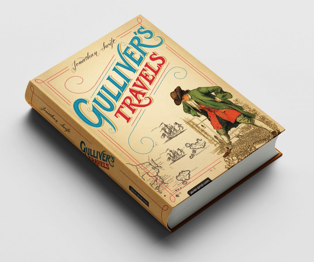 Book Cover Gullivers Travels
