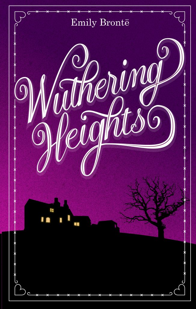Final Wuthering Heights alternative book cover.