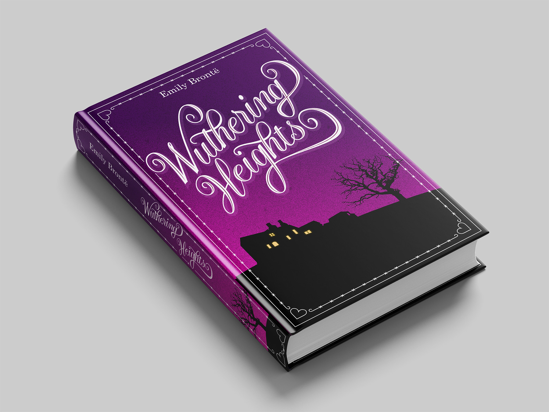 Wuthering Heigths alternative book cover